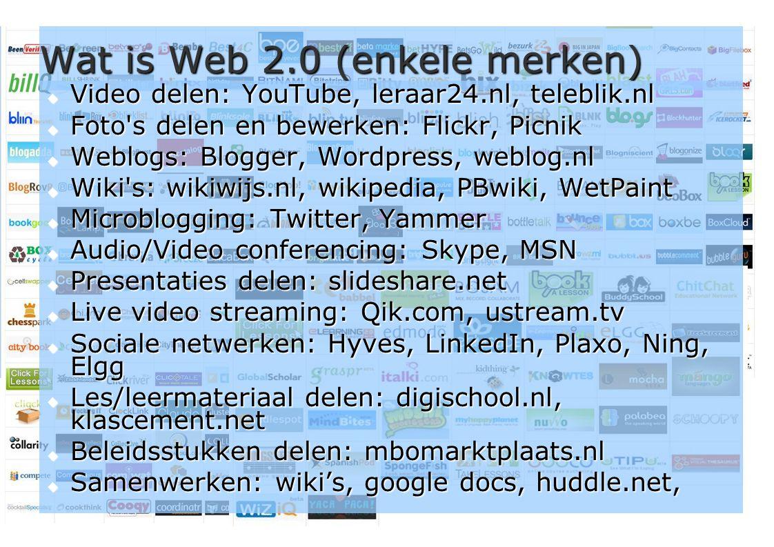 17 Weblogs  Voorbeeld: http://taalprof.web-log.nl http://taalprof.web-log.nl  Voorbeeld: http://computersindeklas.web- log.nl http://computersindeklas.web- log.nlhttp://computersindeklas.web- log.nl  Begin zelf via blogger.com, wordpress.com of weblog.nl; of www.23onderwijsdingen.nl (..) is een online dagboek in de vorm van een website.