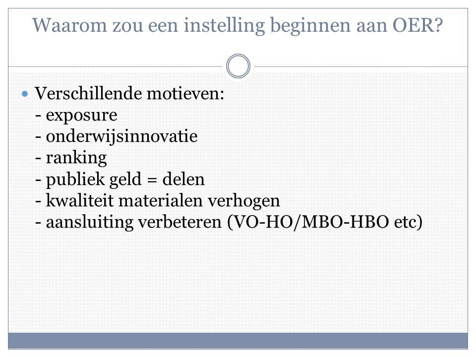 Wat wordt het antwoord van Universiteit Leiden en andere instellingen voor HO op deze, zich razendsnel ontwikkelende, trend: Massive Open Online Courses ?