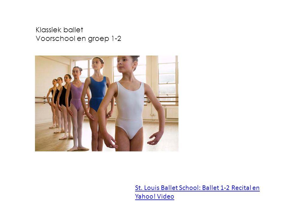 Klassiek ballet Voorschool en groep 1-2 St. Louis Ballet School: Ballet 1-2 Recital en Yahoo! Video