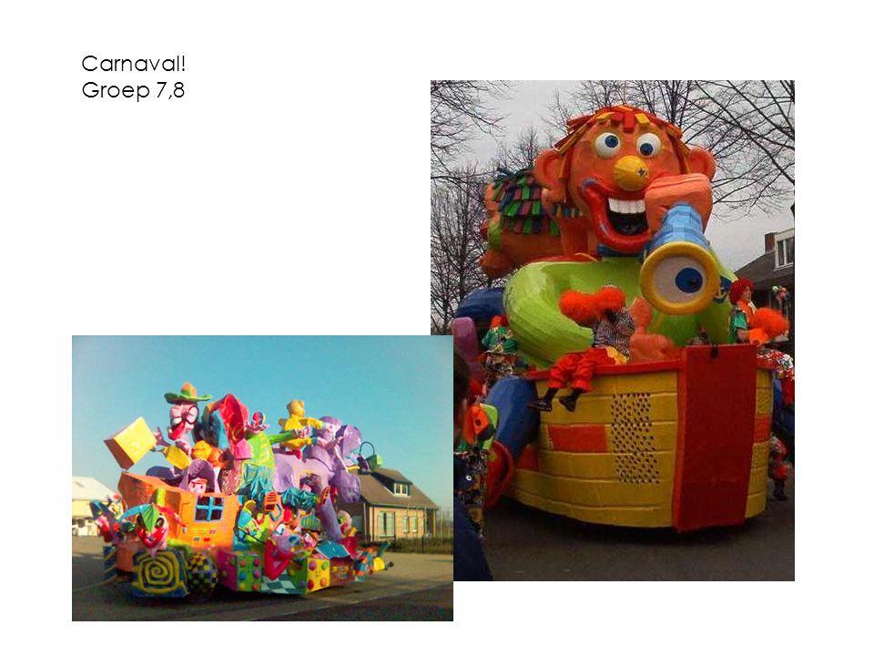 Carnaval! Groep 7,8