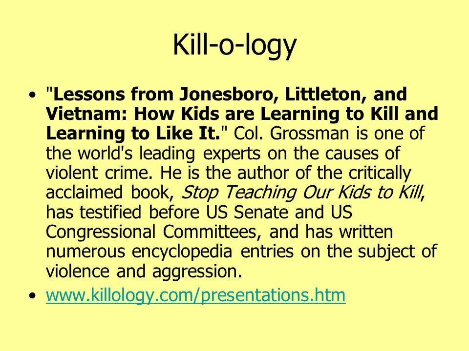 Kill-o-logy •