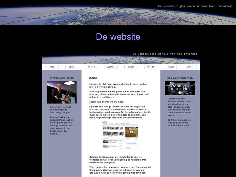 De website