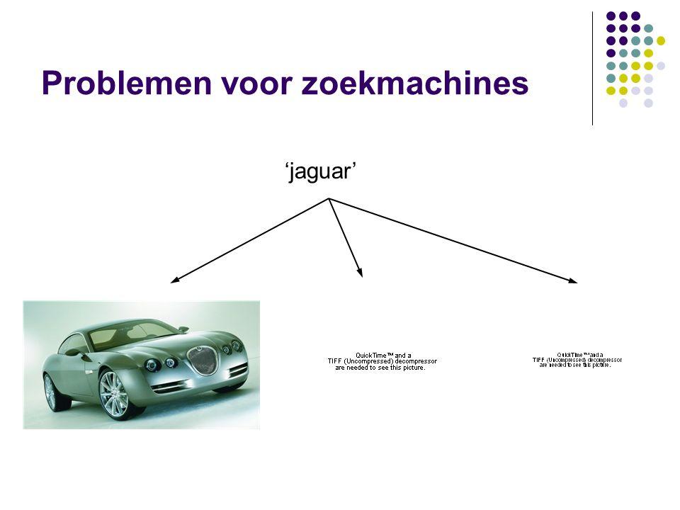 Problemen voor zoekmachines 'jaguar'