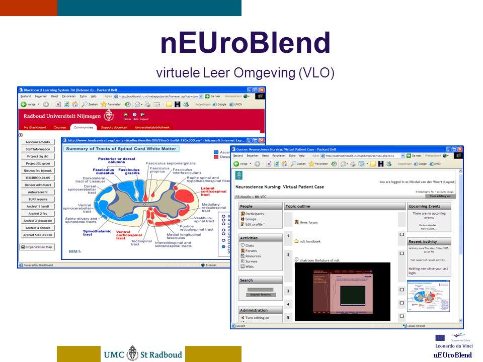 nEUroBlend virtuele Leer Omgeving (VLO)