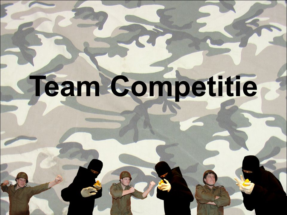 Team Competitie