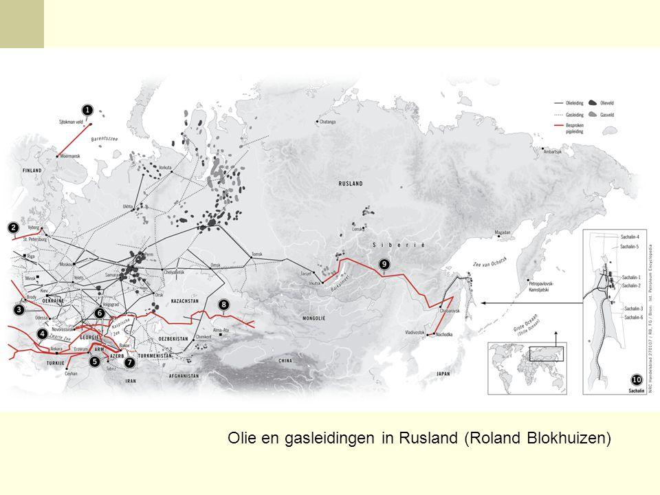 Olie en gasleidingen in Rusland (Roland Blokhuizen)