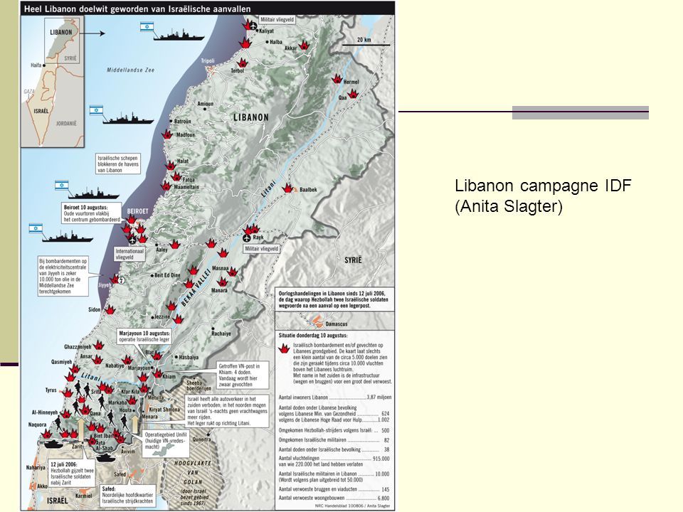 Libanon campagne IDF (Anita Slagter)