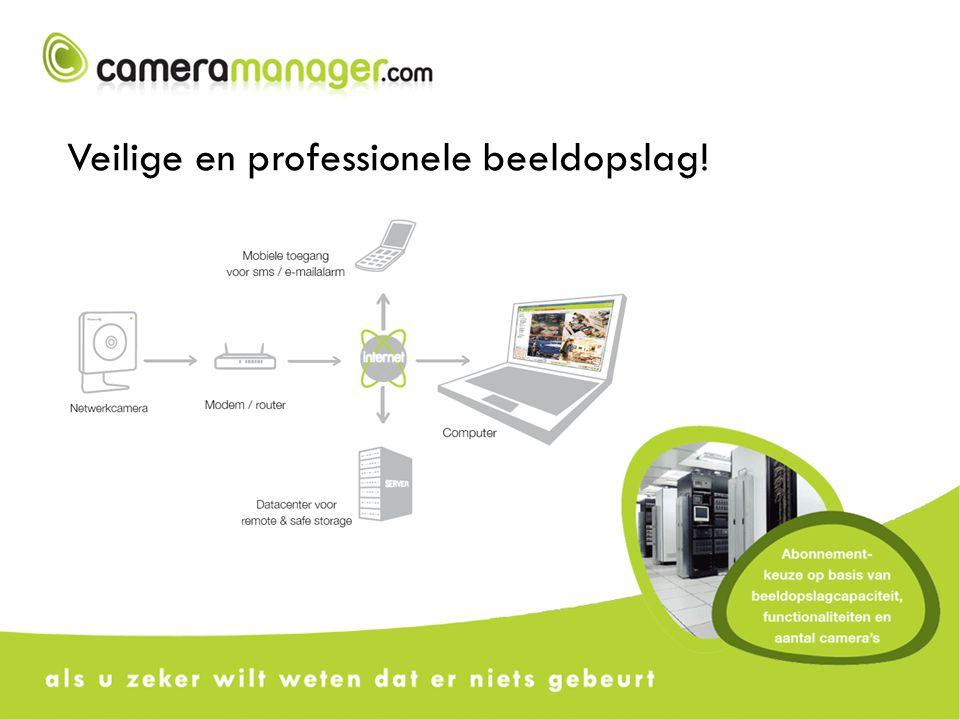 24/7 online beschikbare functionaliteiten o.a.: - Tot 5x5 multiview - Lokaal en extern opnemen - Bewegingsdetectie op camera of server - Opnameschema - Gebruikersbeheer - Remote playback - Autoset-up & configuratie wizard - Mobiele toegang - SMS & E-mailalarm