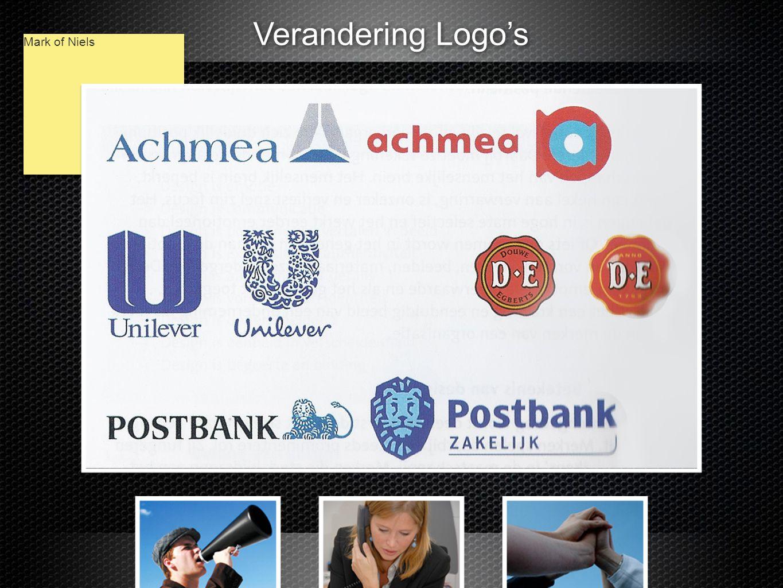 Verandering Logo's Mark of Niels