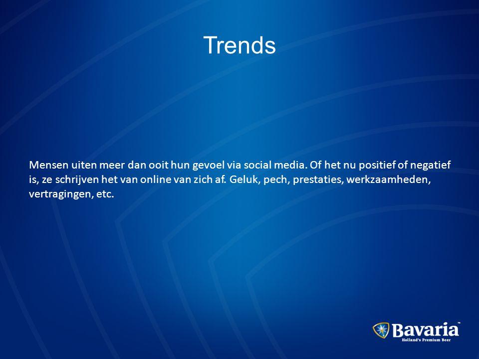 Trends Mensen uiten meer dan ooit hun gevoel via social media. Of het nu positief of negatief is, ze schrijven het van online van zich af. Geluk, pech