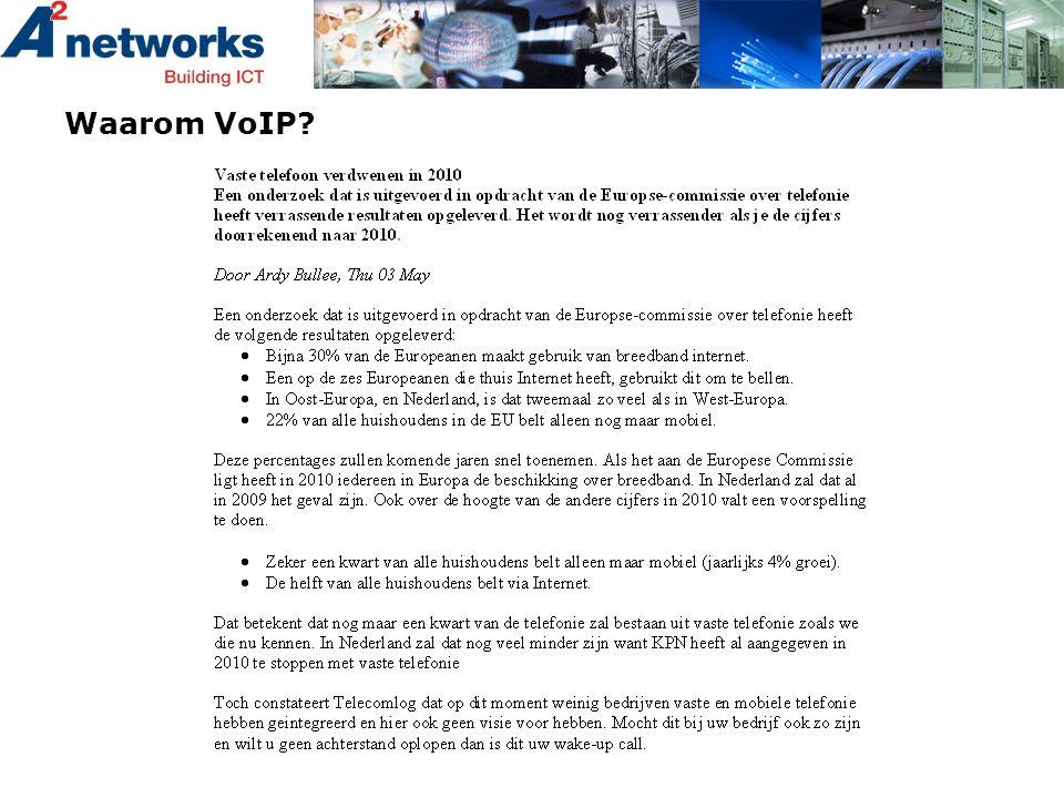 Waarom VoIP?