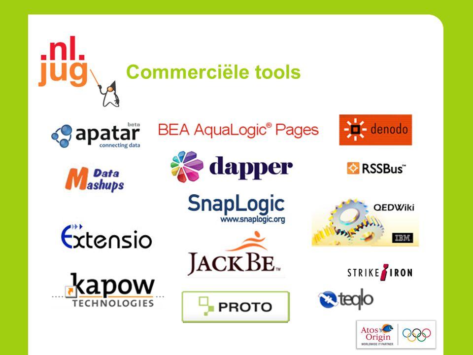 Commerciële tools