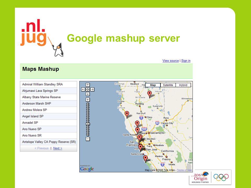 Google mashup server