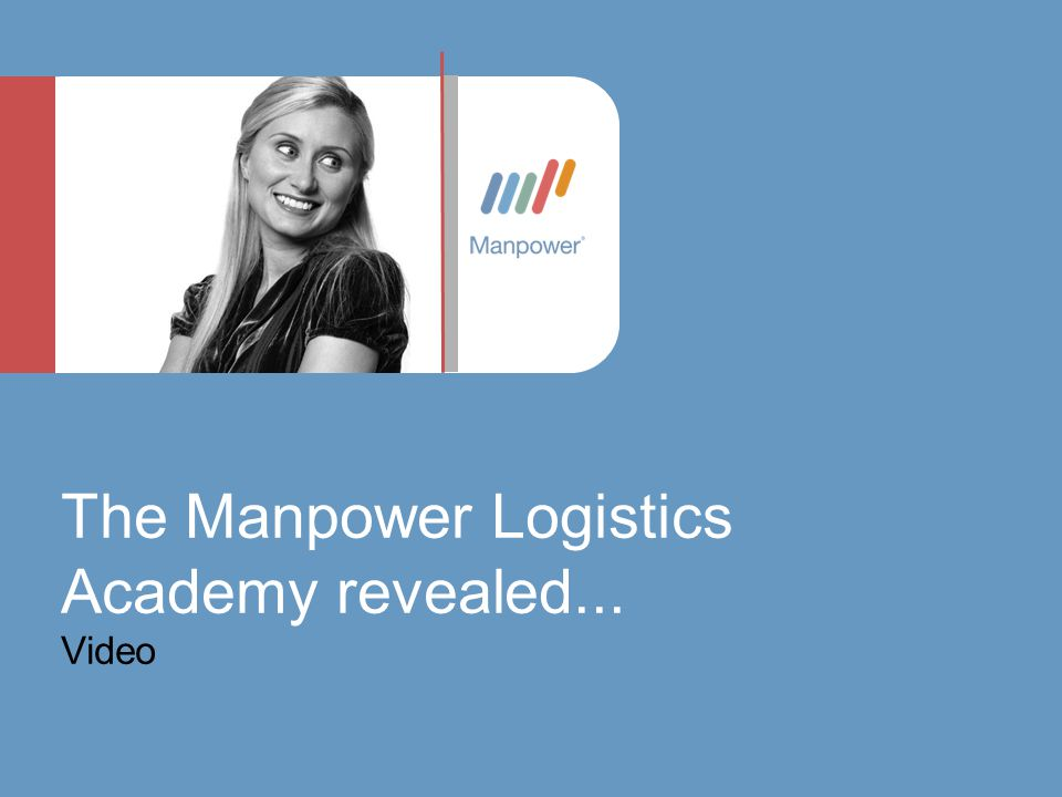 The Manpower Logistics Academy revealed... Video