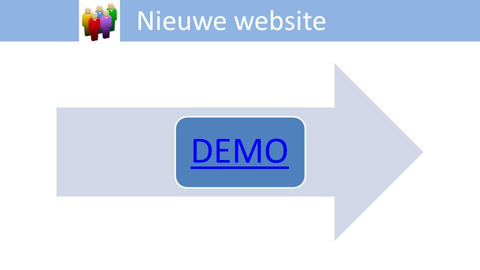 Nieuwe website DEMO