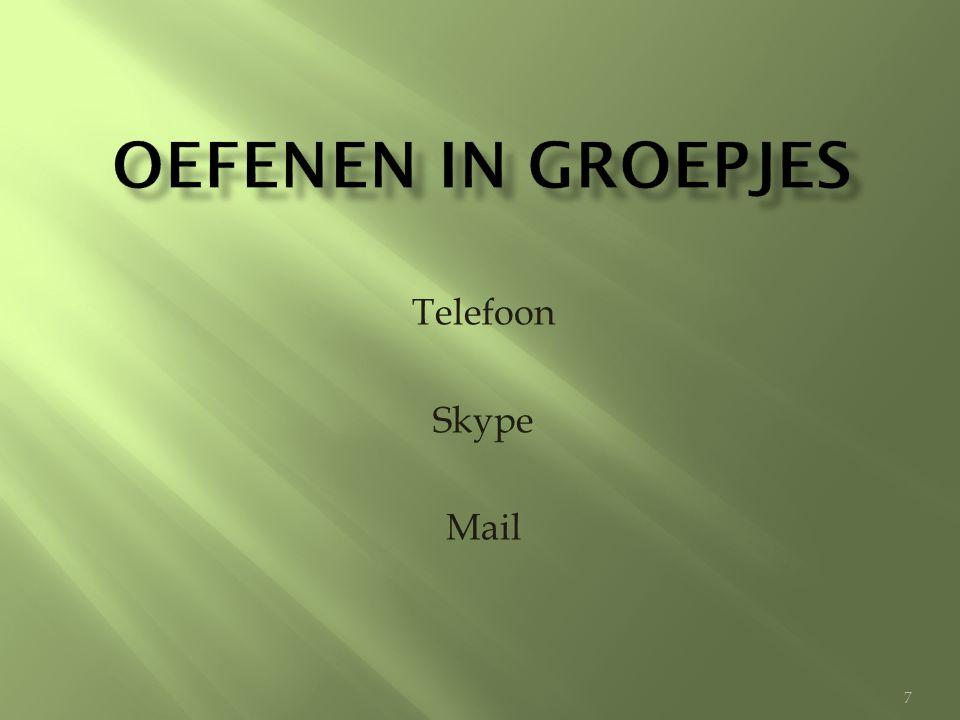 Telefoon Skype Mail 7