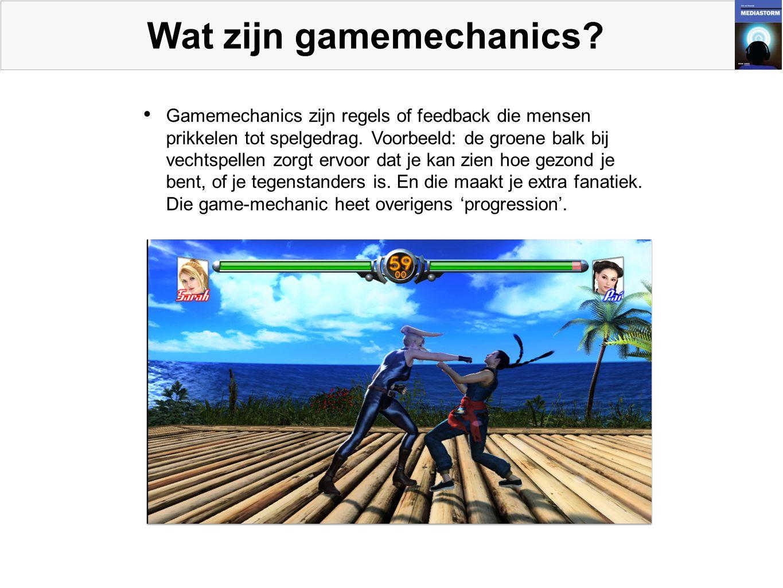 Wat zijn gamemechanics.