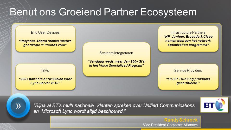 """Benut ons Groeiend Partner Ecosysteem Infrastructure Partners """"HP, Juniper, Brocade & Cisco nemen deel aan het network optimization programma"""" Infrast"""