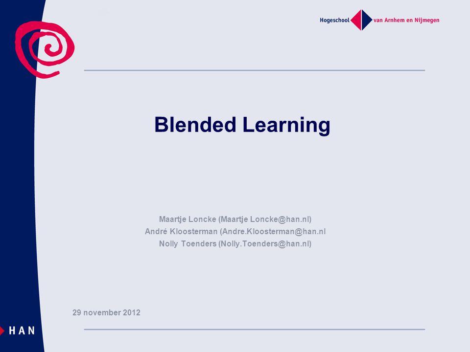 Programma  Intro – Management in Zorg en dienstverlening – Minor Verandermanagement – FSM E-learning  Blended Learning – Leermateriaal – Samenwerken – Begeleiden – Toetsen www.digitaledidactiek.nl