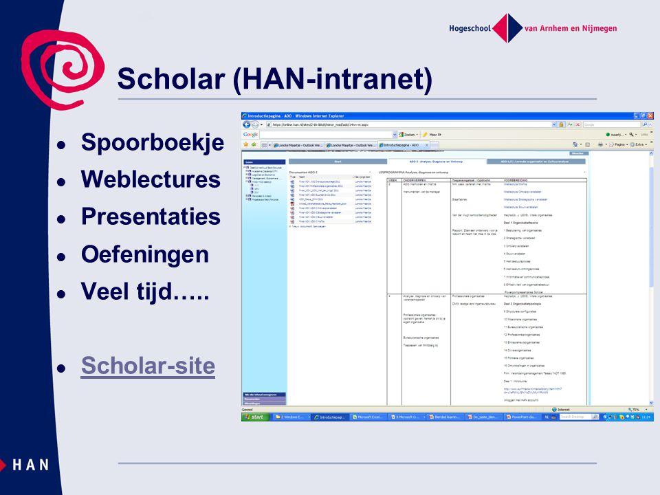 Weblectures  Presentations 2 Go  Veel voorbereiding  ICT ondersteuning  Slides