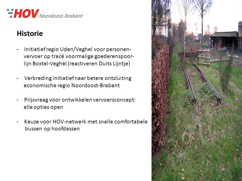 Ambities HOV 2028 (1) -Bijdragen aan leefbaarheid, ruimtelijk-economische ontwikkelingen en duurzame bereikbaarheid in de regio Noordoost-Brabant -Aantrekkingskracht OV verhogen -Hoge frequentie, kwaliteit haltes, overstapvoorzieningen voor fiets, auto, trein (knooppunten)