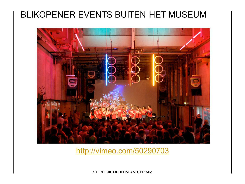 BLIKOPENER EVENTS BUITEN HET MUSEUM http://vimeo.com/50290703