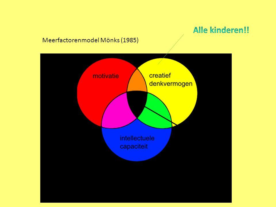 Meerfactorenmodel Mönks (1985)