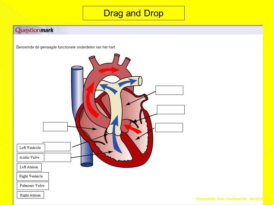 Drag and Drop Presentatie DAS-Conferentie 03-02-2011