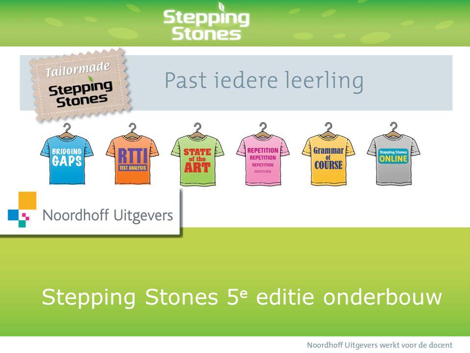 Stepping Stones 5 e editie onderbouw
