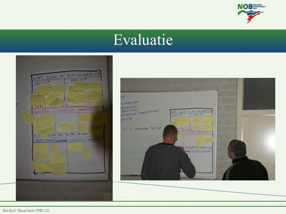Rob Kool / Emiel Smits NOB I 120 Evaluatie