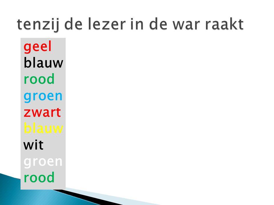 xxxx geel blauw rood groen zwart blauw wit groen rood