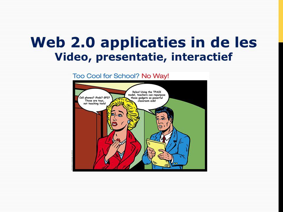 • Welkom • Opbouw workshop • Leren met ict ervaren • Verkennen web 2.0 toepassingen • Zelf ontwikkelen met toepassingen • Wat oogsten we.