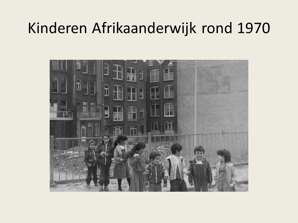 Kinderen Afrikaanderwijk rond 1970