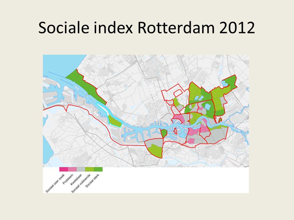 Sociale index Rotterdam 2012