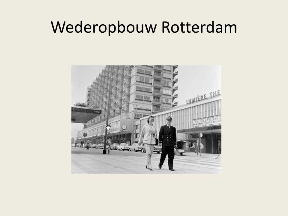 Wederopbouw Rotterdam