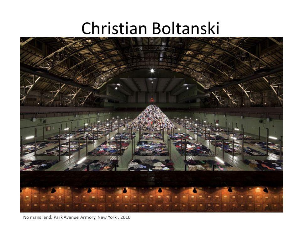 Christian Boltanski No mans land, Park Avenue Armory, New York, 2010