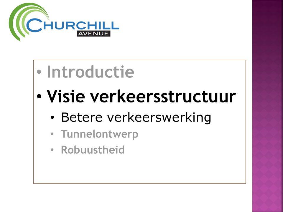 • Introductie • Visie verkeersstructuur • Betere verkeerswerking • Tunnelontwerp • Robuustheid