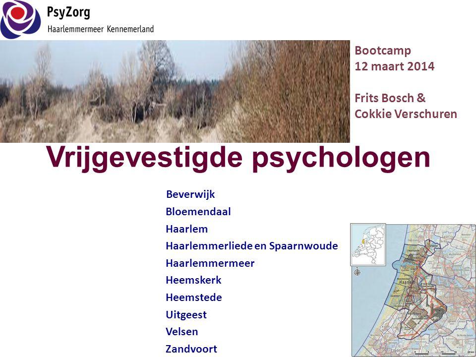 Vrijgevestigde psychologen Beverwijk Bloemendaal Haarlem Haarlemmerliede en Spaarnwoude Haarlemmermeer Heemskerk Heemstede Uitgeest Velsen Zandvoort B