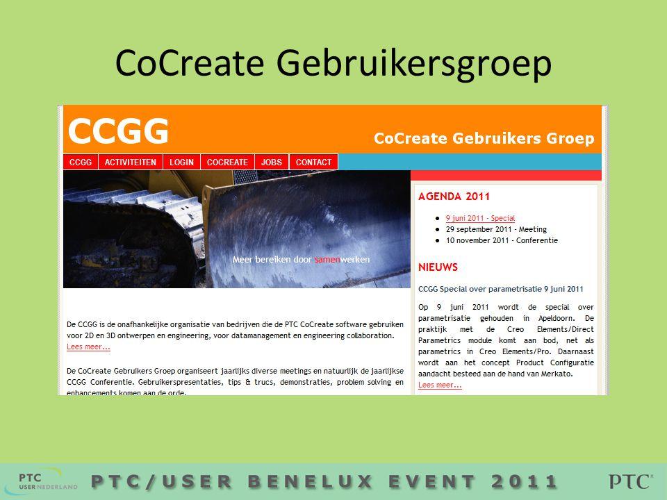 CoCreate Gebruikersgroep