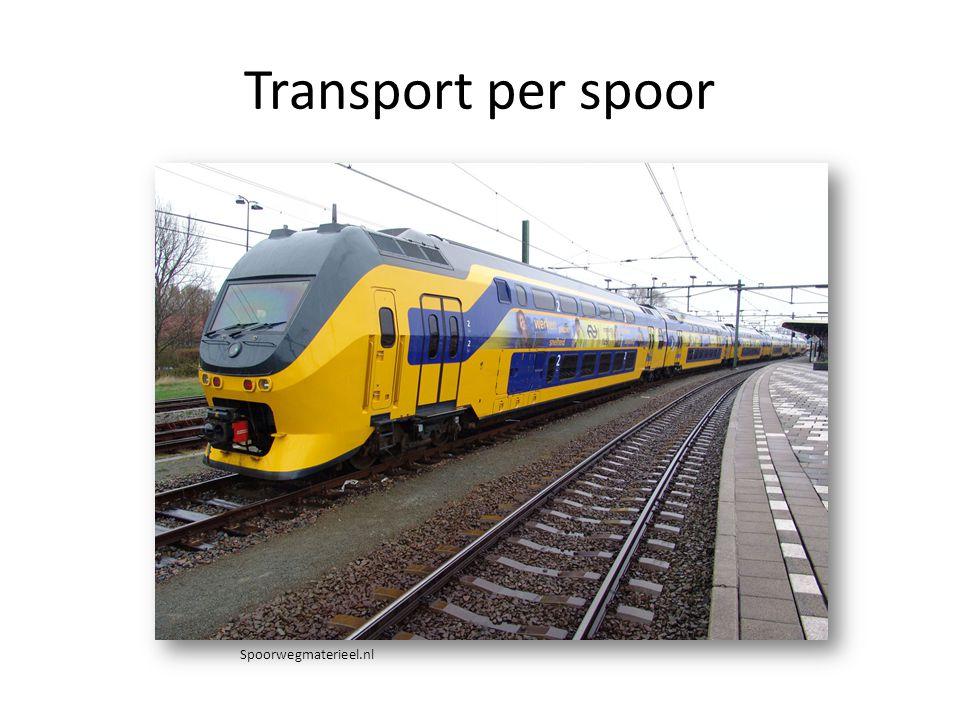Transport per spoor Spoorwegmaterieel.nl
