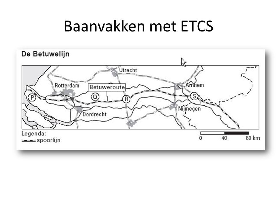 Baanvakken met ETCS