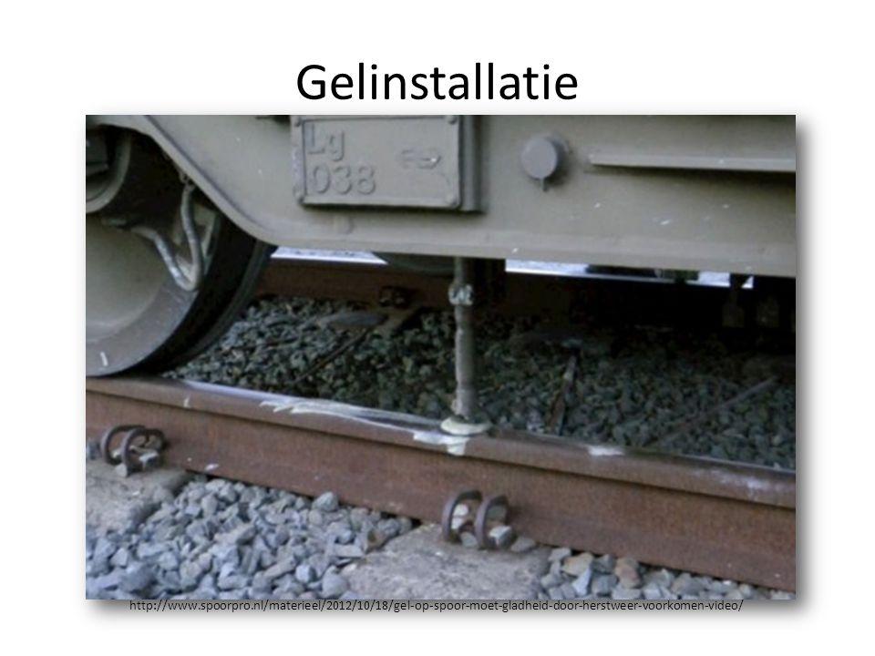 Gelinstallatie http://www.spoorpro.nl/materieel/2012/10/18/gel-op-spoor-moet-gladheid-door-herstweer-voorkomen-video/