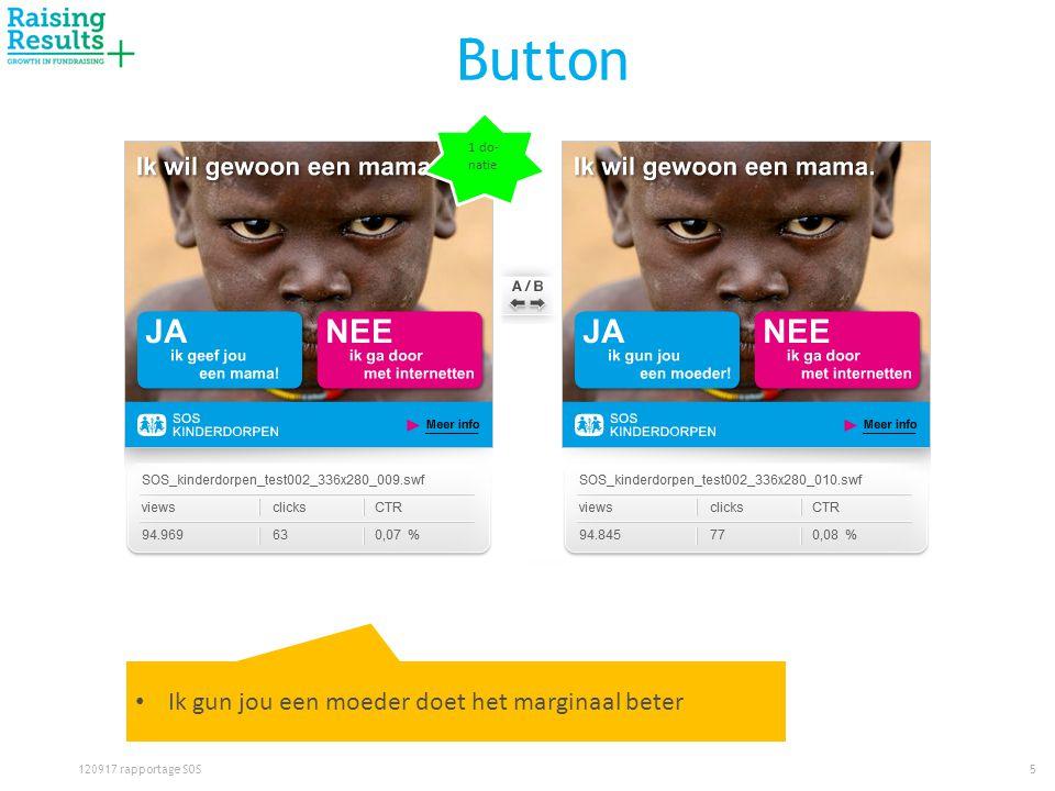 Button 5120917 rapportage SOS • Ik gun jou een moeder doet het marginaal beter 1 do- natie