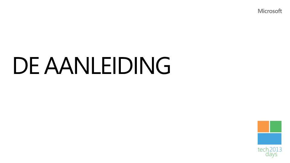 DE AANLEIDING