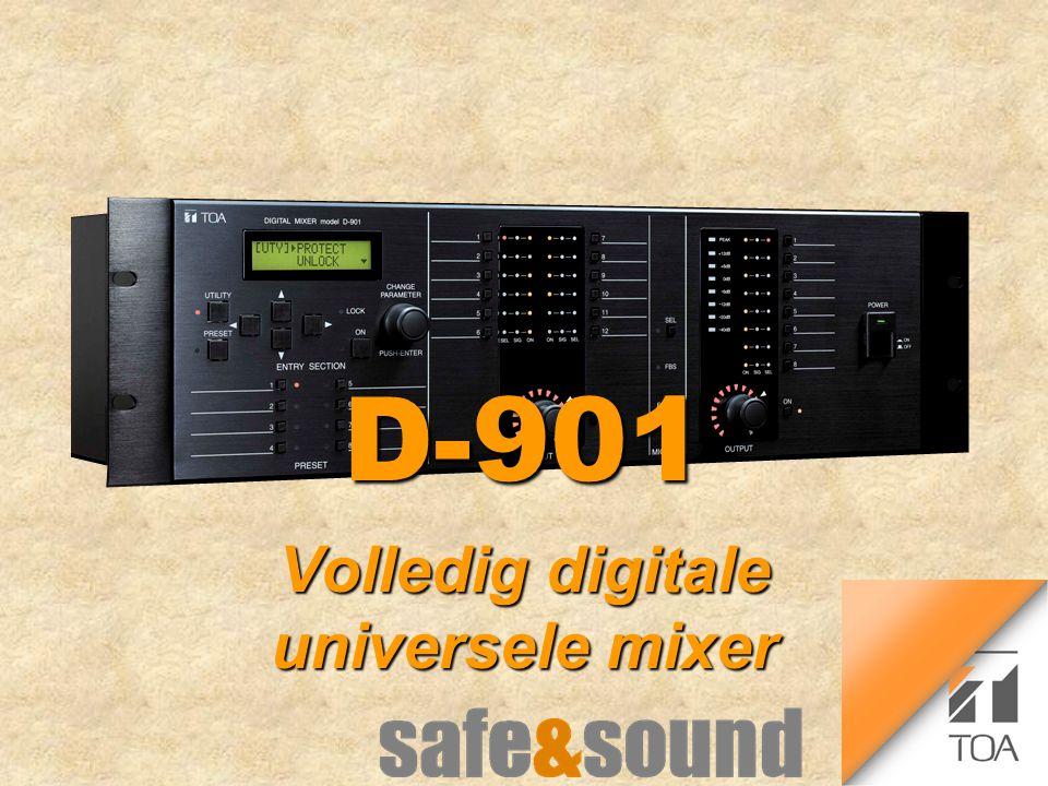 D-901D-901 Volledig digitale universele mixer