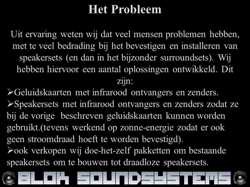 Het Probleem Uit ervaring weten wij dat veel mensen problemen hebben, met te veel bedrading bij het bevestigen en installeren van speakersets (en dan in het bijzonder surroundsets).