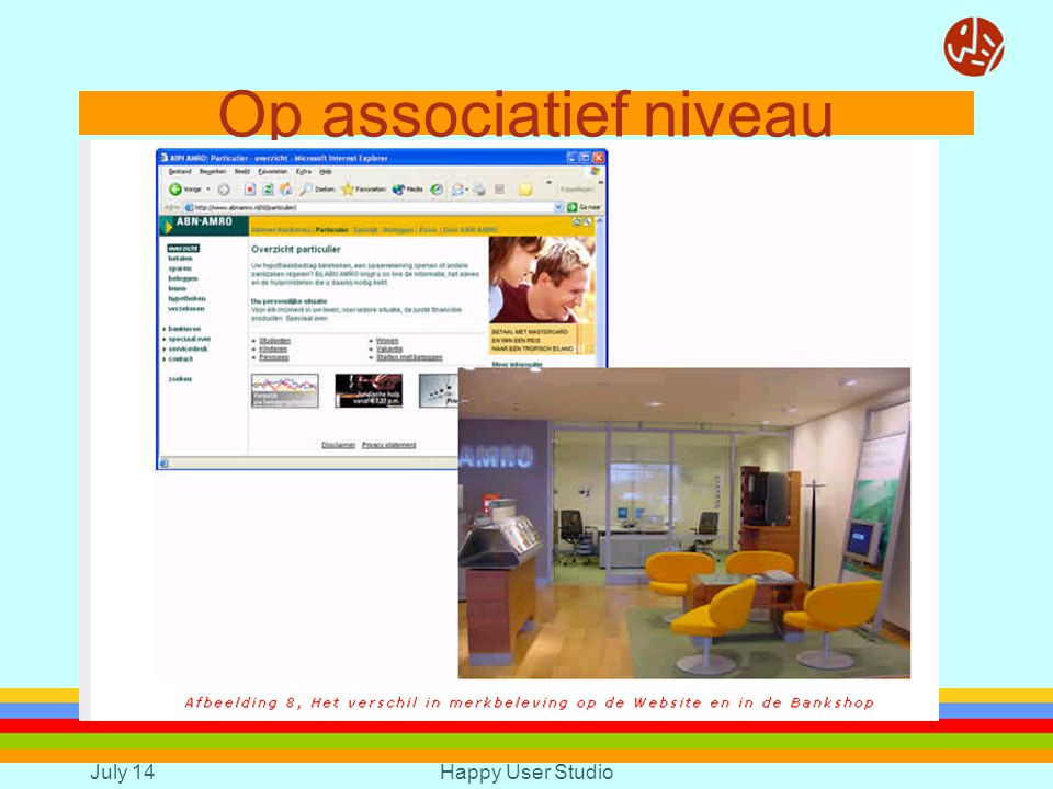 July 14Happy User Studio Op associatief niveau
