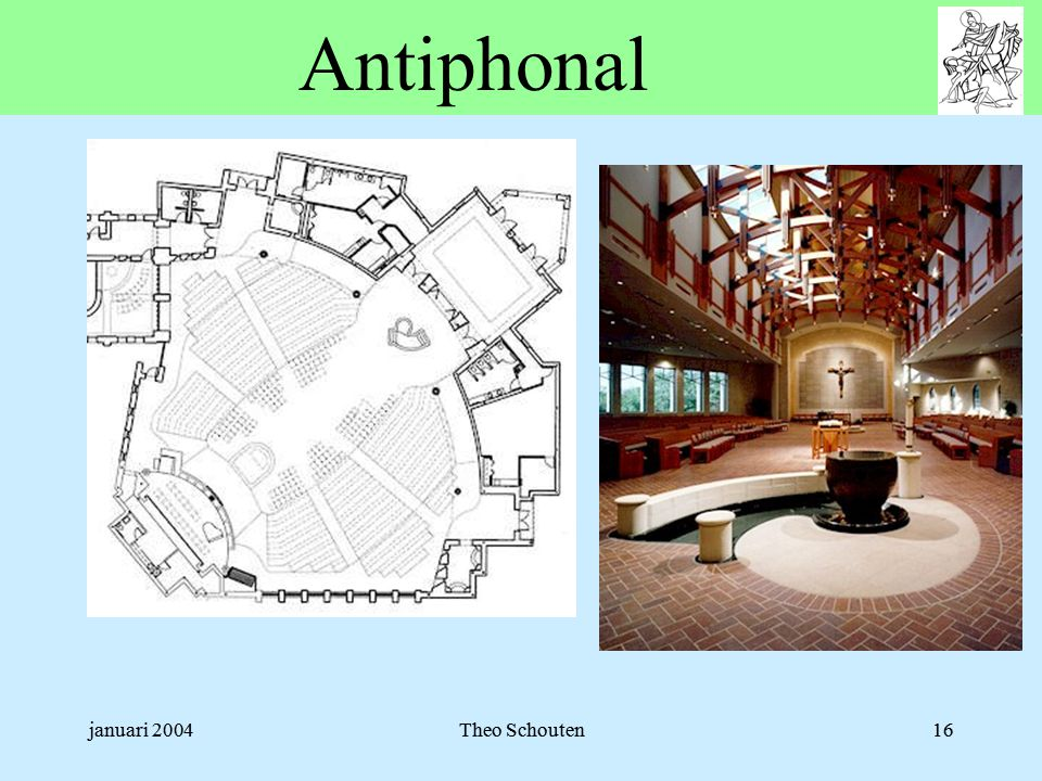 januari 2004Theo Schouten16 Antiphonal