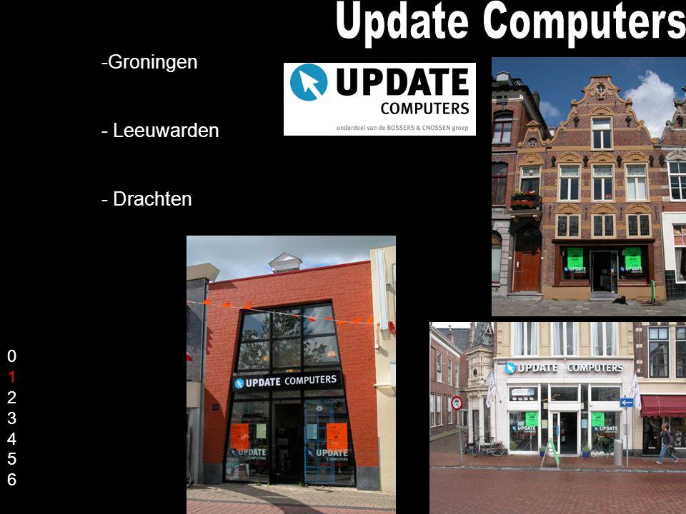 -Groningen - Leeuwarden - Drachten 01234560123456