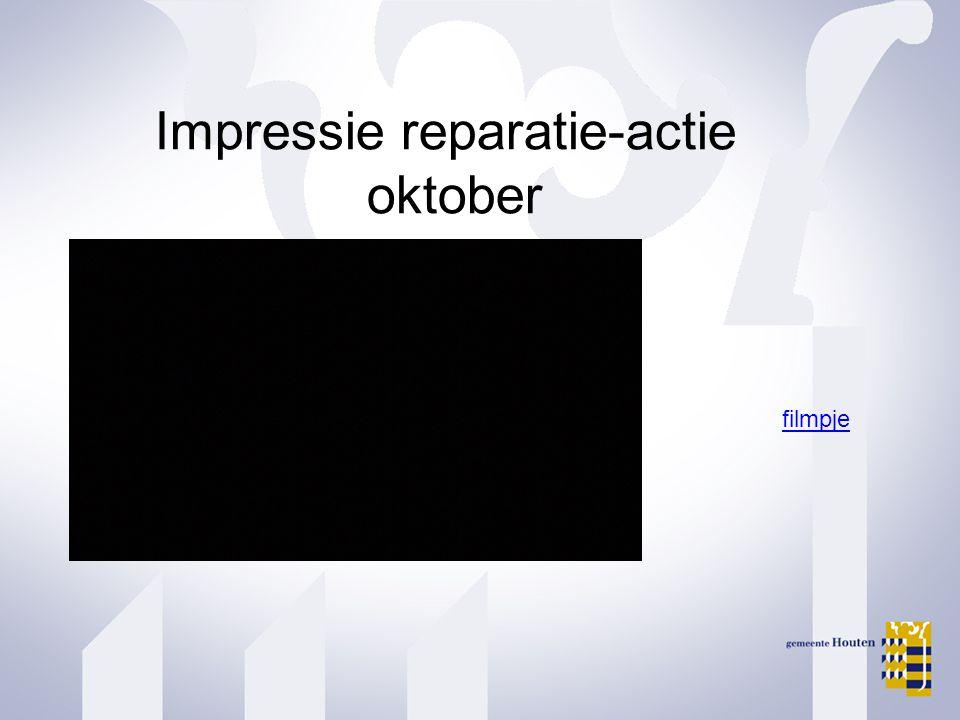 Impressie reparatie-actie oktober filmpje